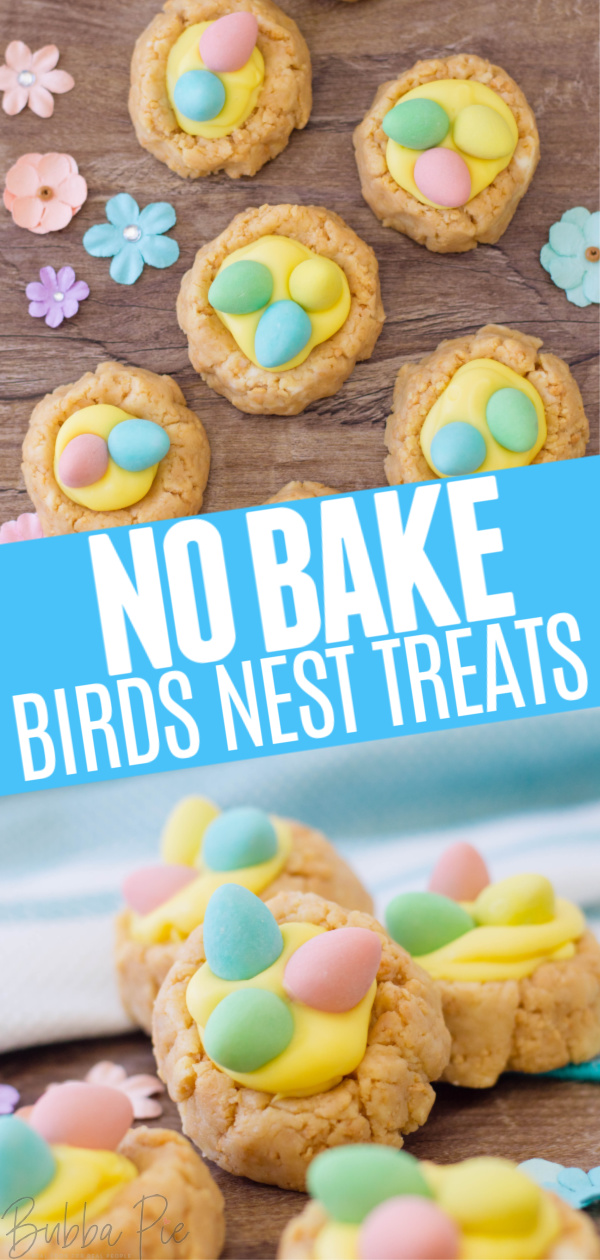 Oreo Birds Nest Cookies Pin 1