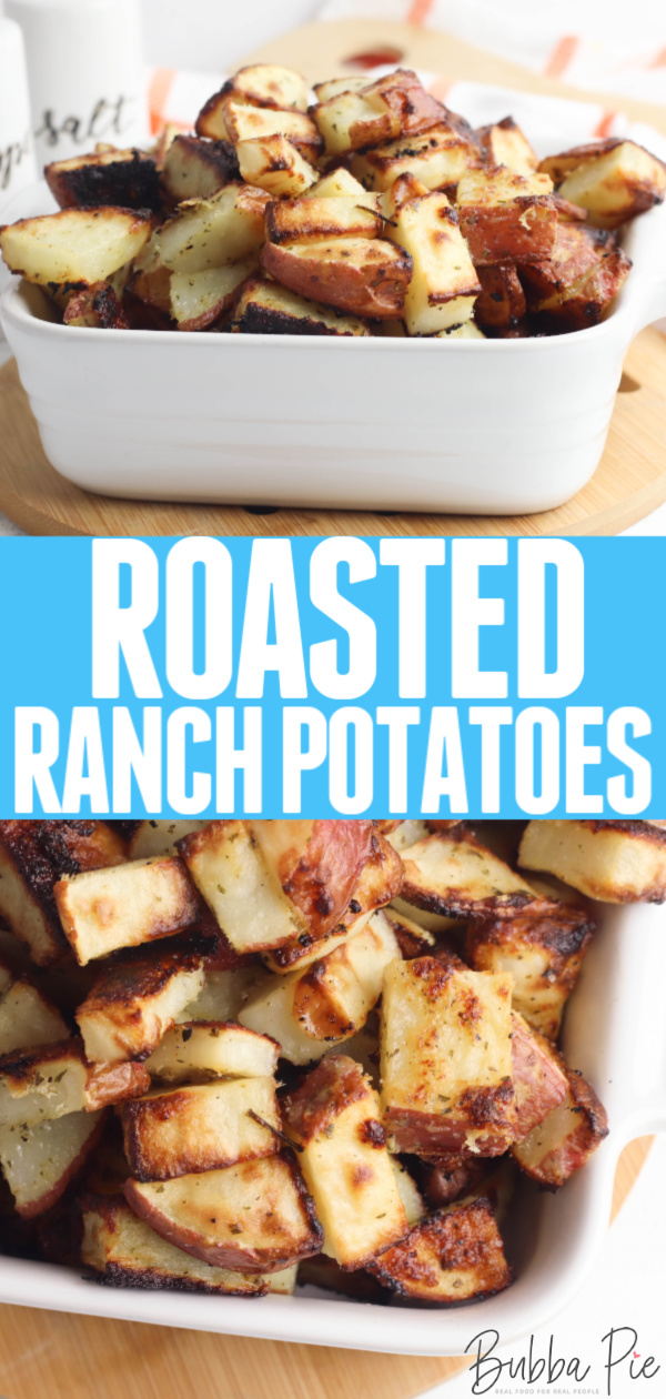 Roasted Ranch Potatoes Pin 1