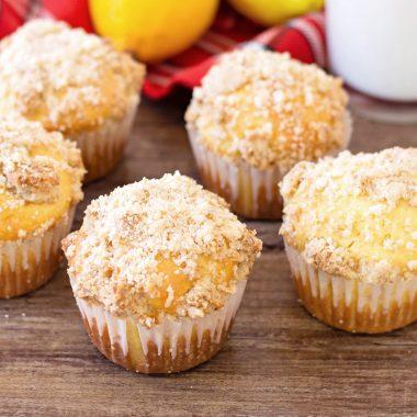 Breakfast Lemon Muffins Recipe