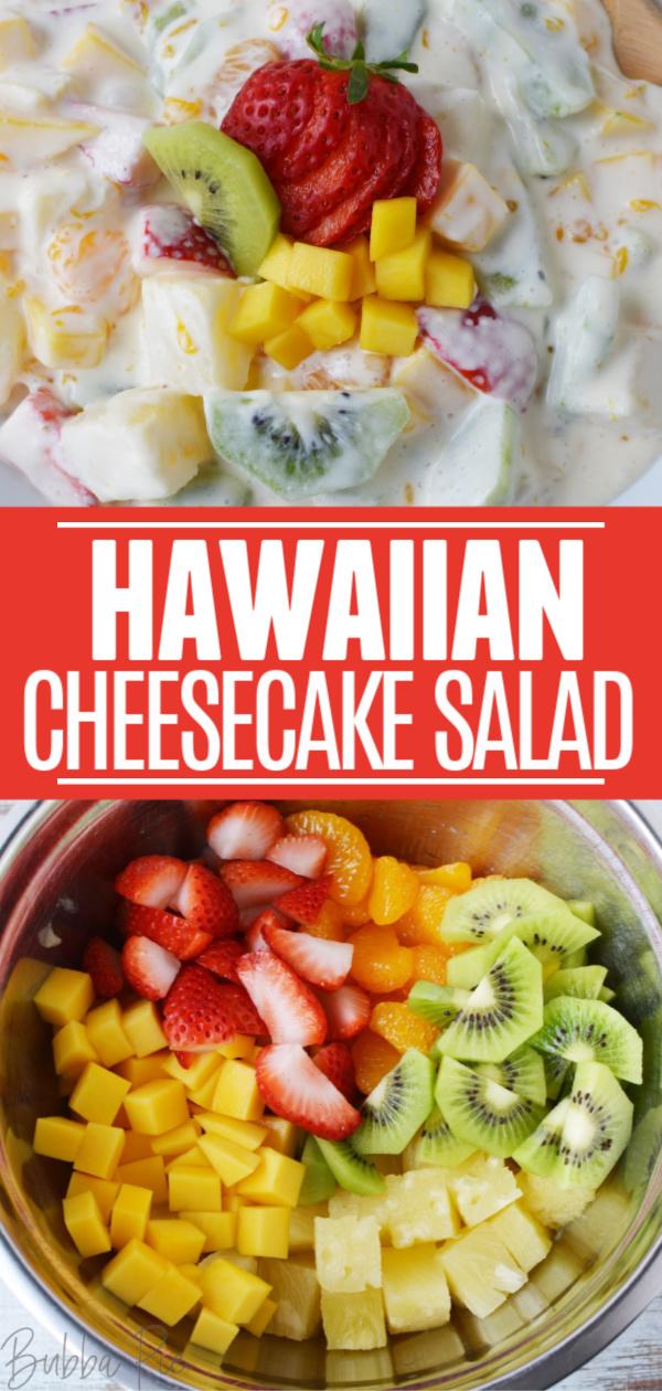 Hawaiian Cheesecake Salad Pin