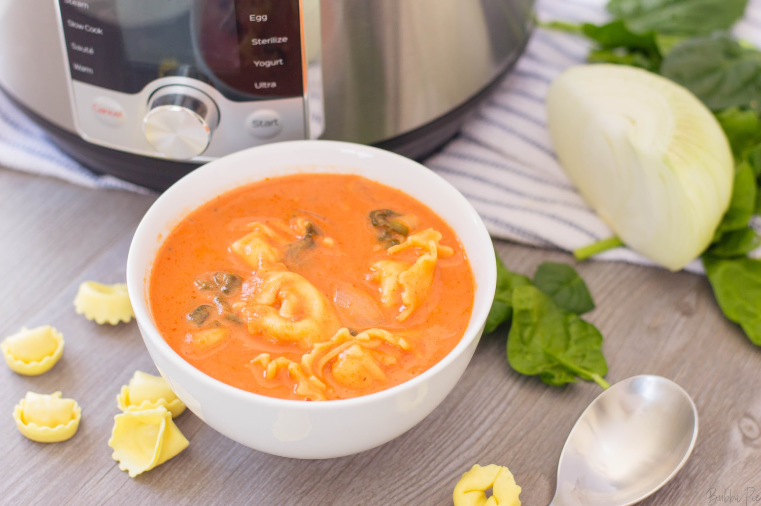 Instant pot tortellini Soup is a quick and easy dinner recipe all made in one pot.