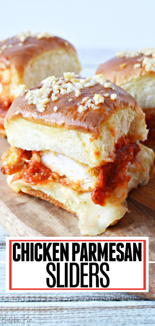Chicken Parmesan Sliders Pin 1