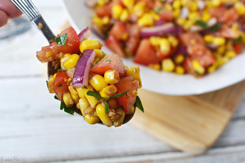 Corn and Tomato Vegetable Salad