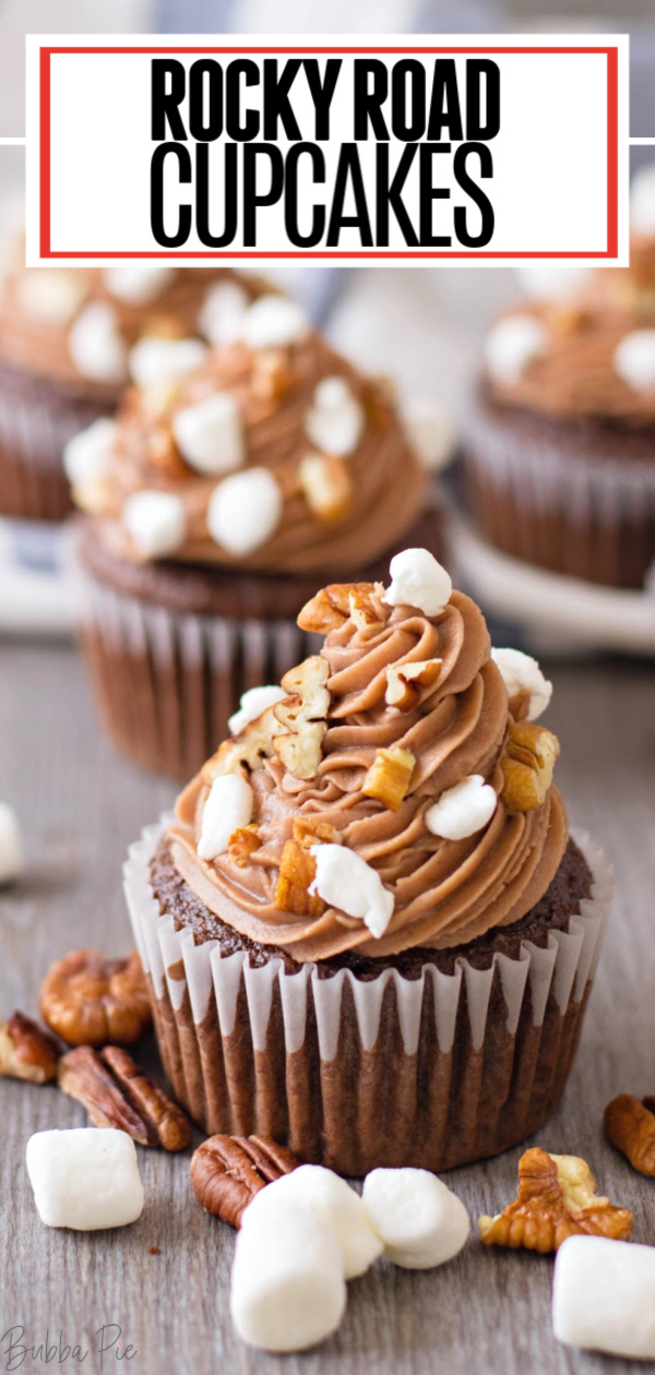Rocky Road Cupcakes Pin 2