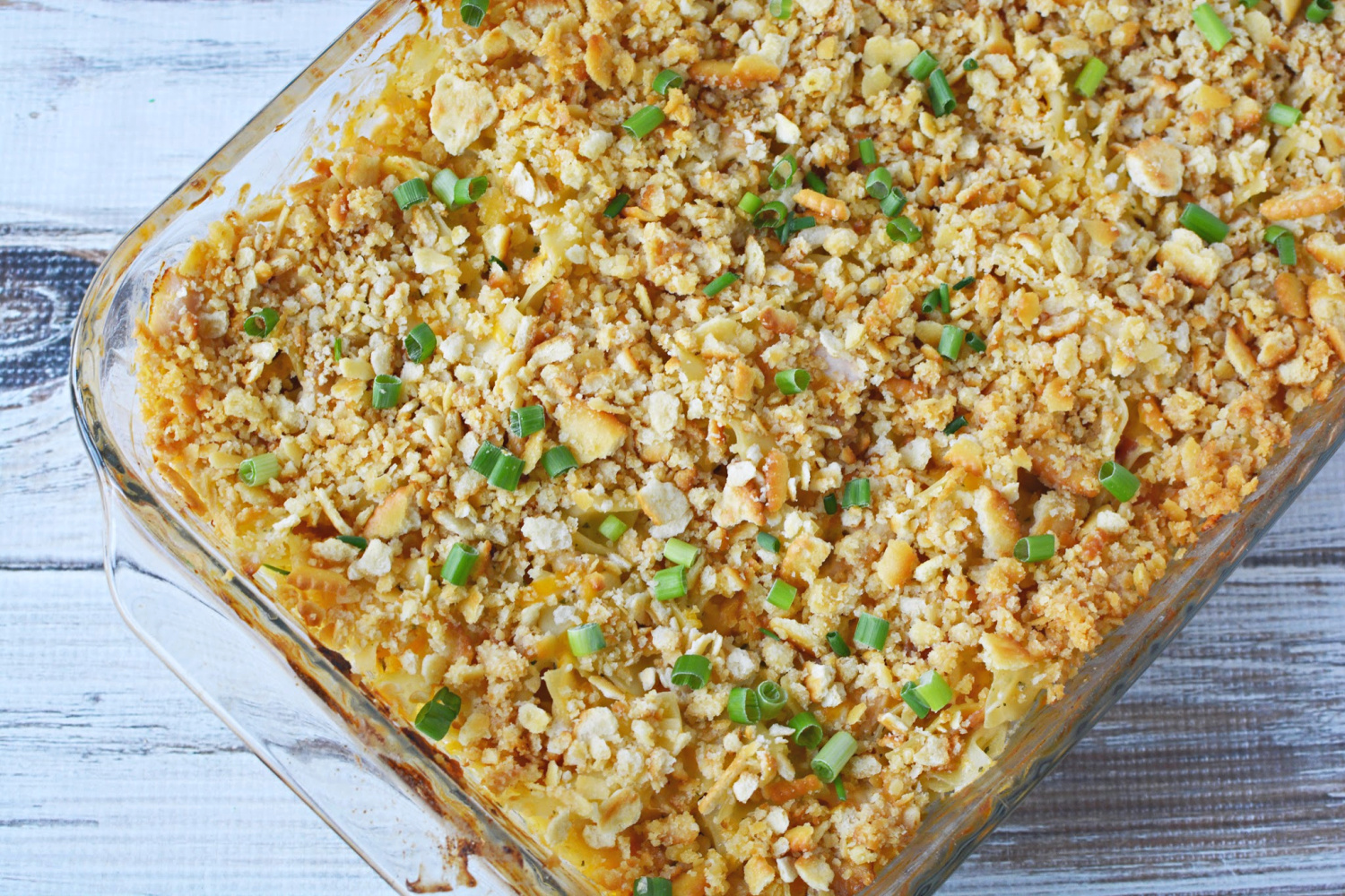 Easy Crack Chicken Casserole Recipe is a great dinner dish for the whole family.