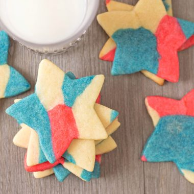 Fourth of July Sugar Cookies are perfect for memorial day or independence day