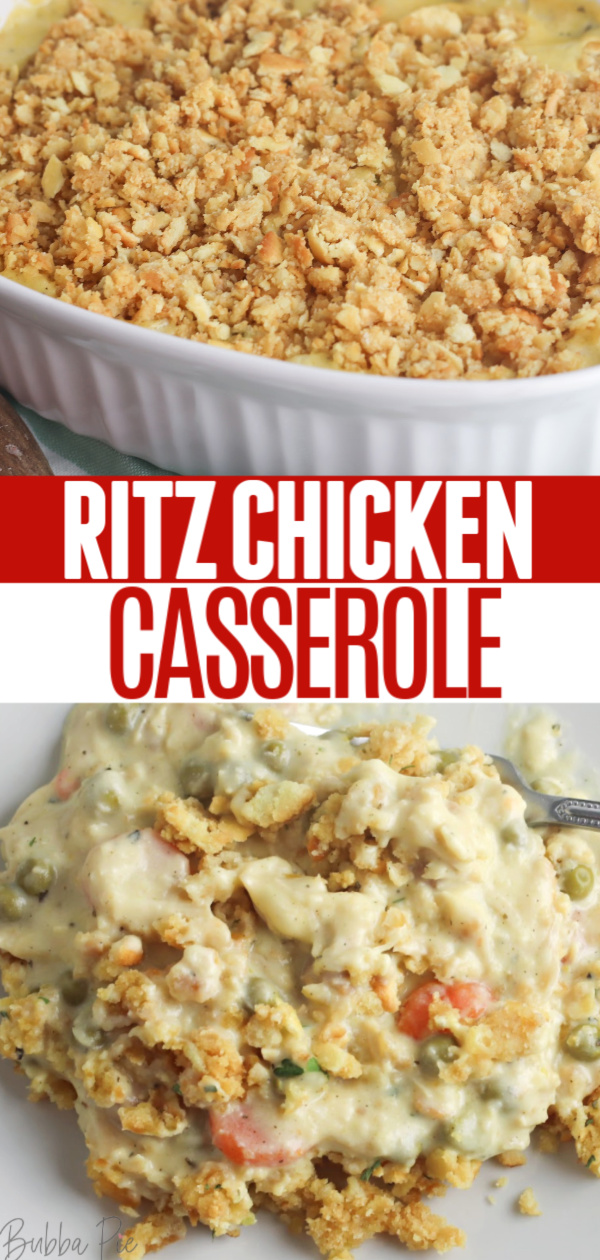 Ritz Chicken Casserole Pin1