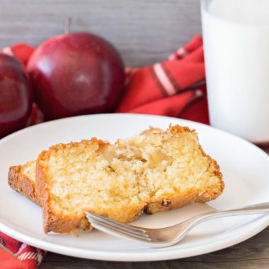 Apple Cinnamon Bread is a great breakfast treat or dessert exploding with fall flavors.
