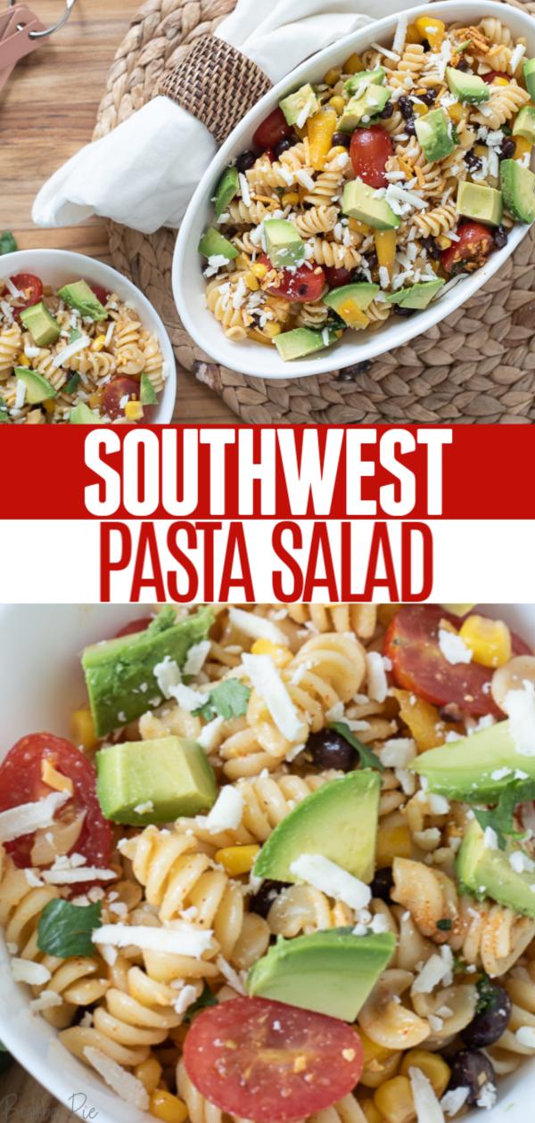 Southwest Pasta Salad Pin 1