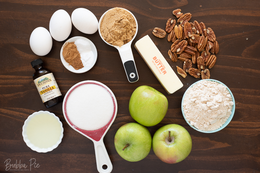 Apple Dapple Cake Ingredients
