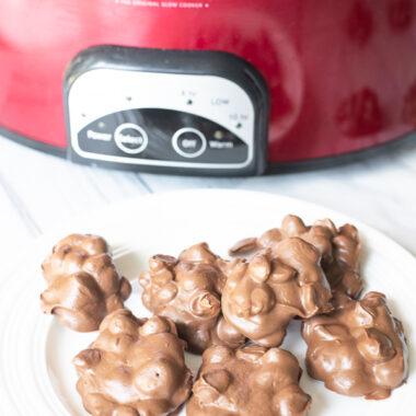 Crockpot Peanut Clusters