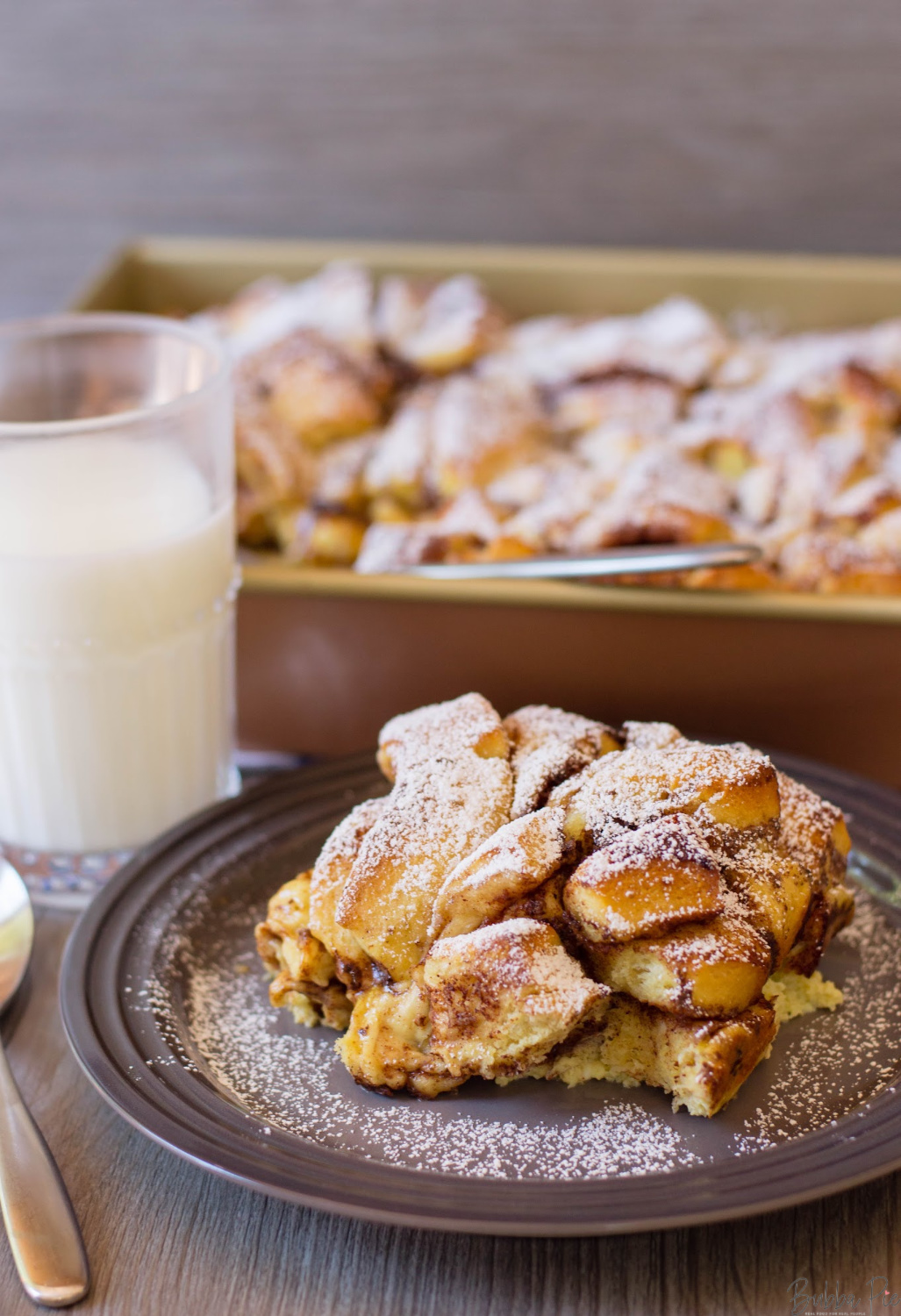 French Toast Casserole Recipe is a great recipe for a crowd or for the holidays.