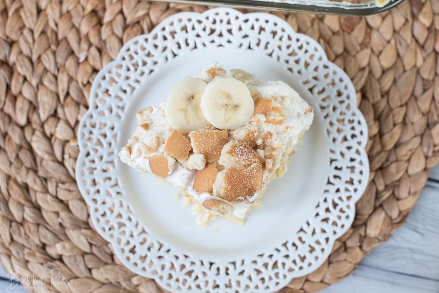 How to make banana pudding poke cake