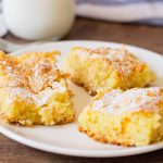 Ooey Gooey Butter Cake is rich, buttery and delicious cake mix recipe.