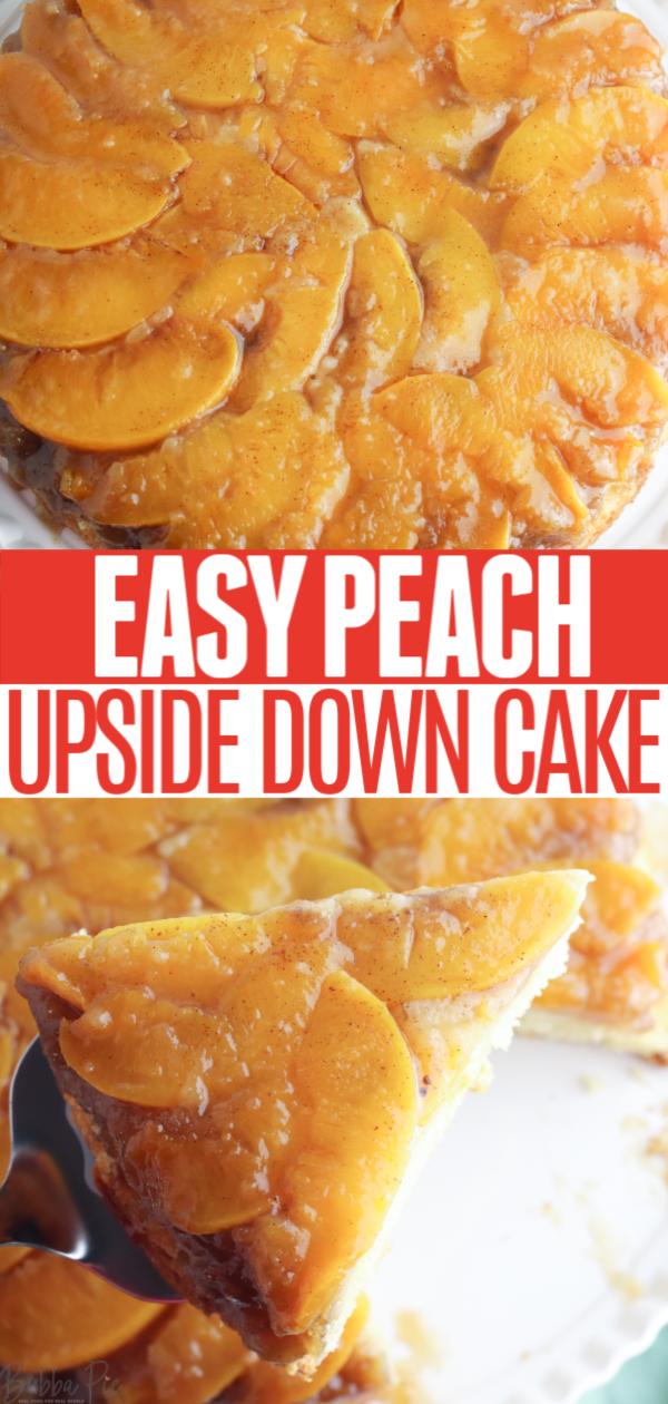 Peach upside down cake pin 1