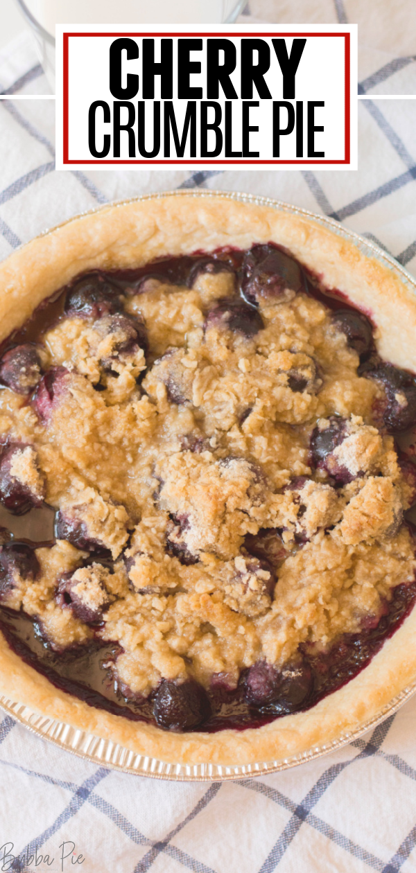 Cherry Crumble Pie Pin 1