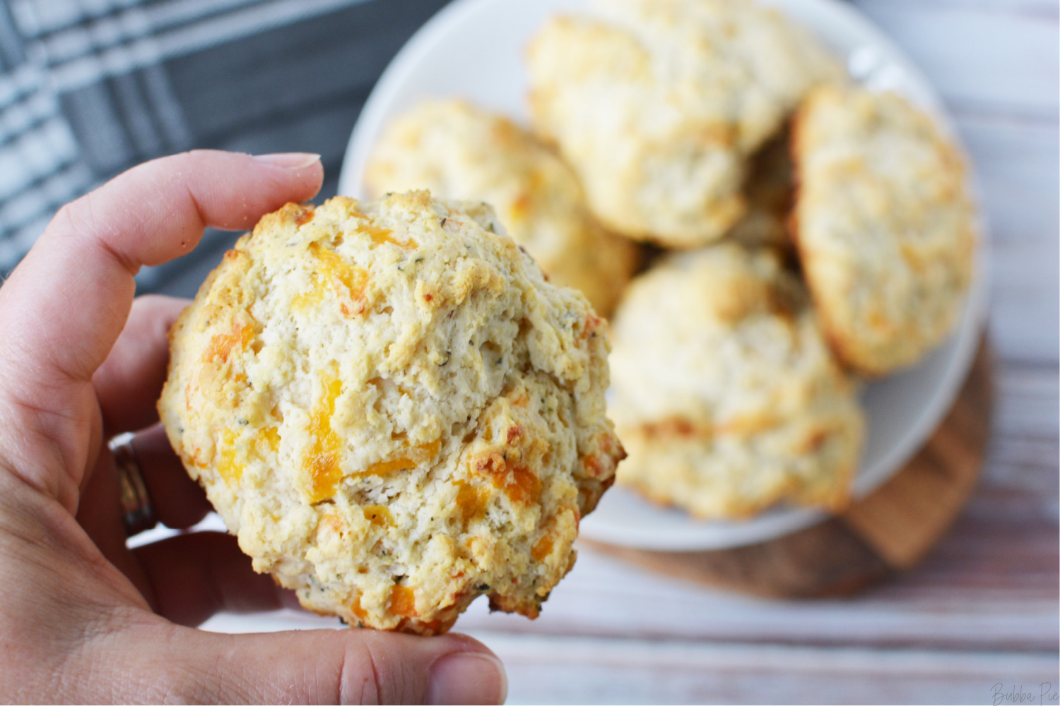 Bisquick Cheese Biscuits are a copycat Red Lobster Recipe
