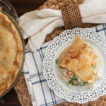 Turkey Pot Pie is a great recipe to use your leftover turkey after Thanksgiving.