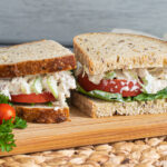 Turkey Salad Sandwich is a great recipe to use your leftover thanksgiving turkey.