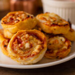 Cheesy Pinwheels with Pepperoni