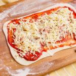 add mozzarella to pepperoni pinwheels