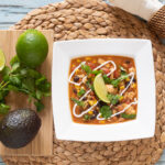 8 Can Taco Soup is an easy recipe made on your stove top.