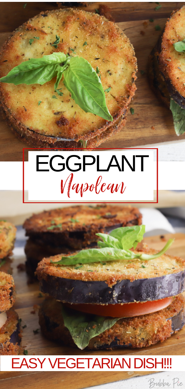 Eggplant Napoleon Pin 1