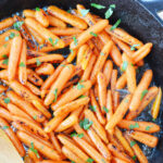 Honey Glazed Carrots is an easy side dish for any meal.