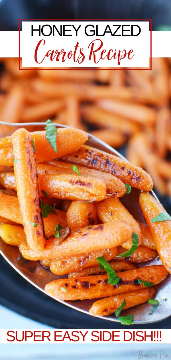 Honey Glazed Carrots Pin 1