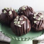 Mint Hot Chocolate Bombs Recipe