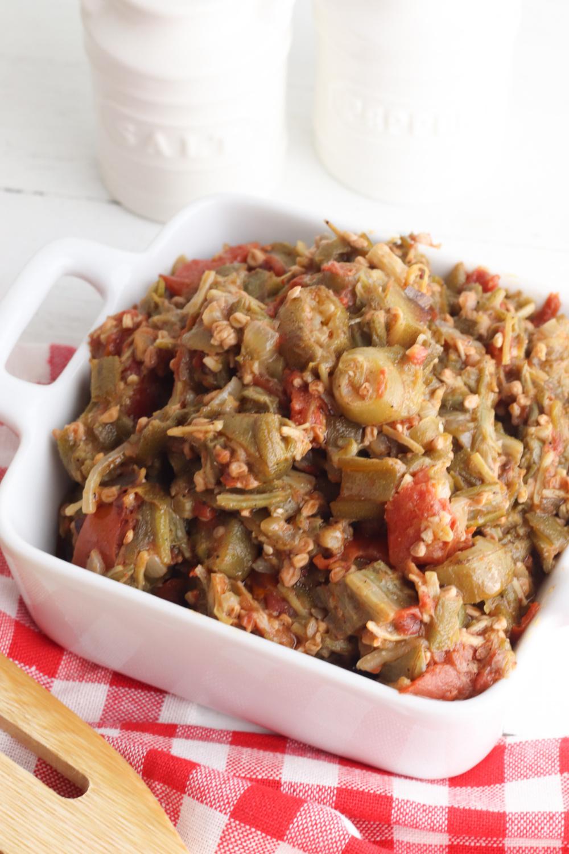 cajun smothered okra recipe