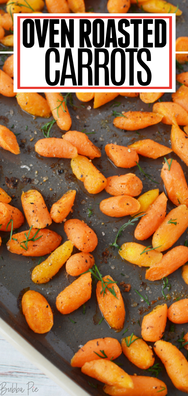 Oven Roasted Carrots Pin