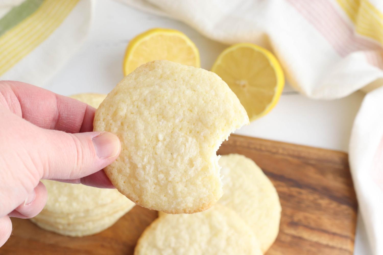 Zesty Meyer Lemon Cookies