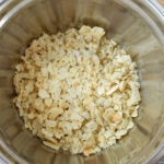 Add crushed crackers into bowls