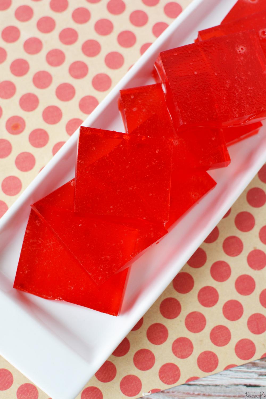 Finger Jello Recipe