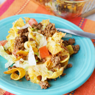 Walking Taco Casserole Recipe