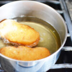 fry biscuits in oil