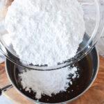 stir in powdered sugar
