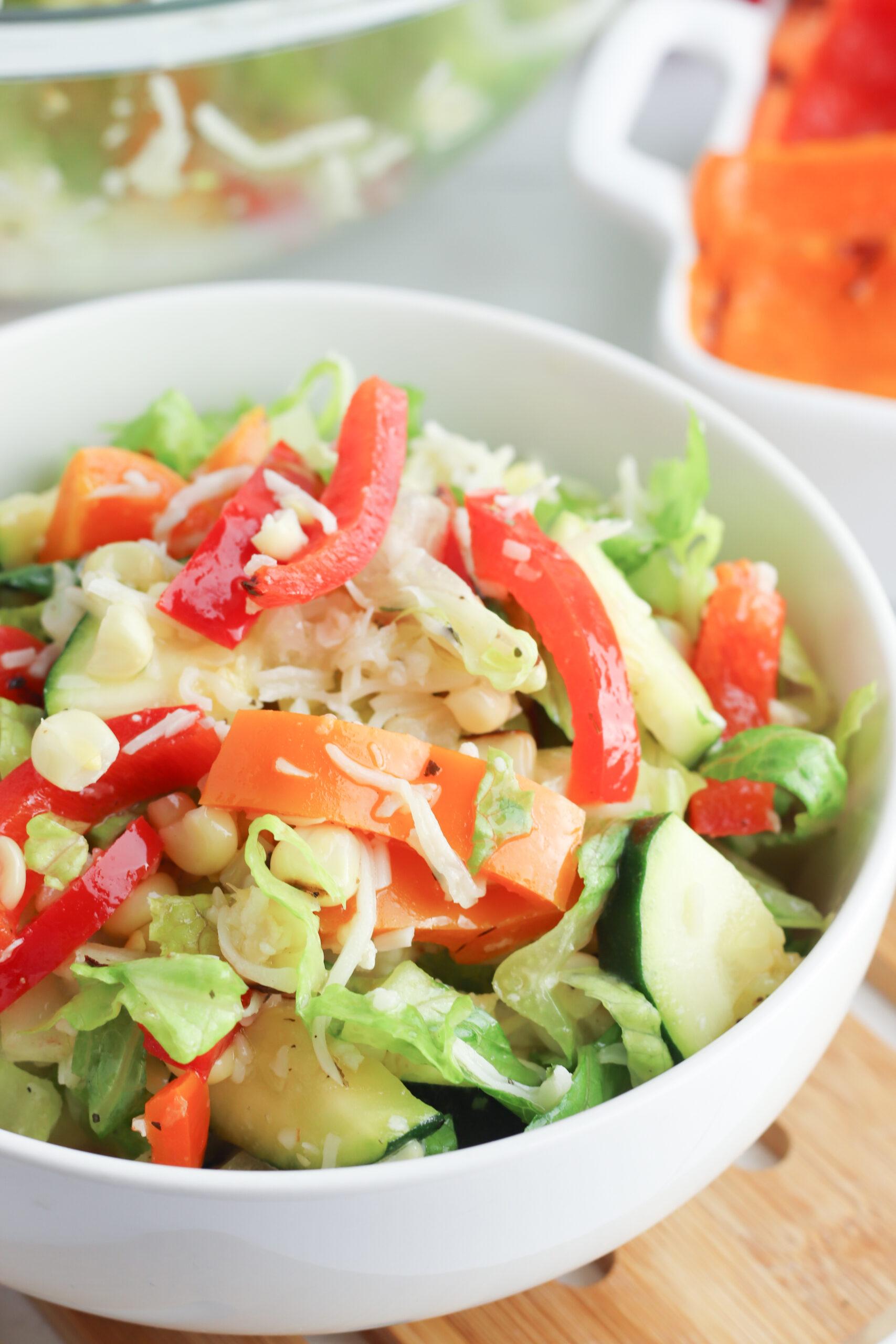 Easy Grilled Vegetable Salad