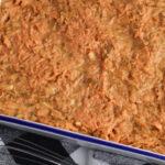 Spread mixture in prepared pan.