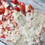 sprinkle on top of strawberries
