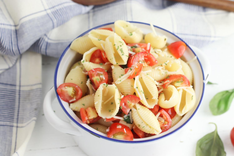 How To Make Bruschetta Pasta Salad