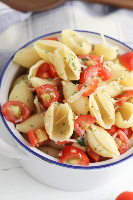 Pasta Salad with Bruschetta