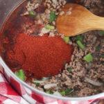 Add Chili Seasoning to Wendy's Chili