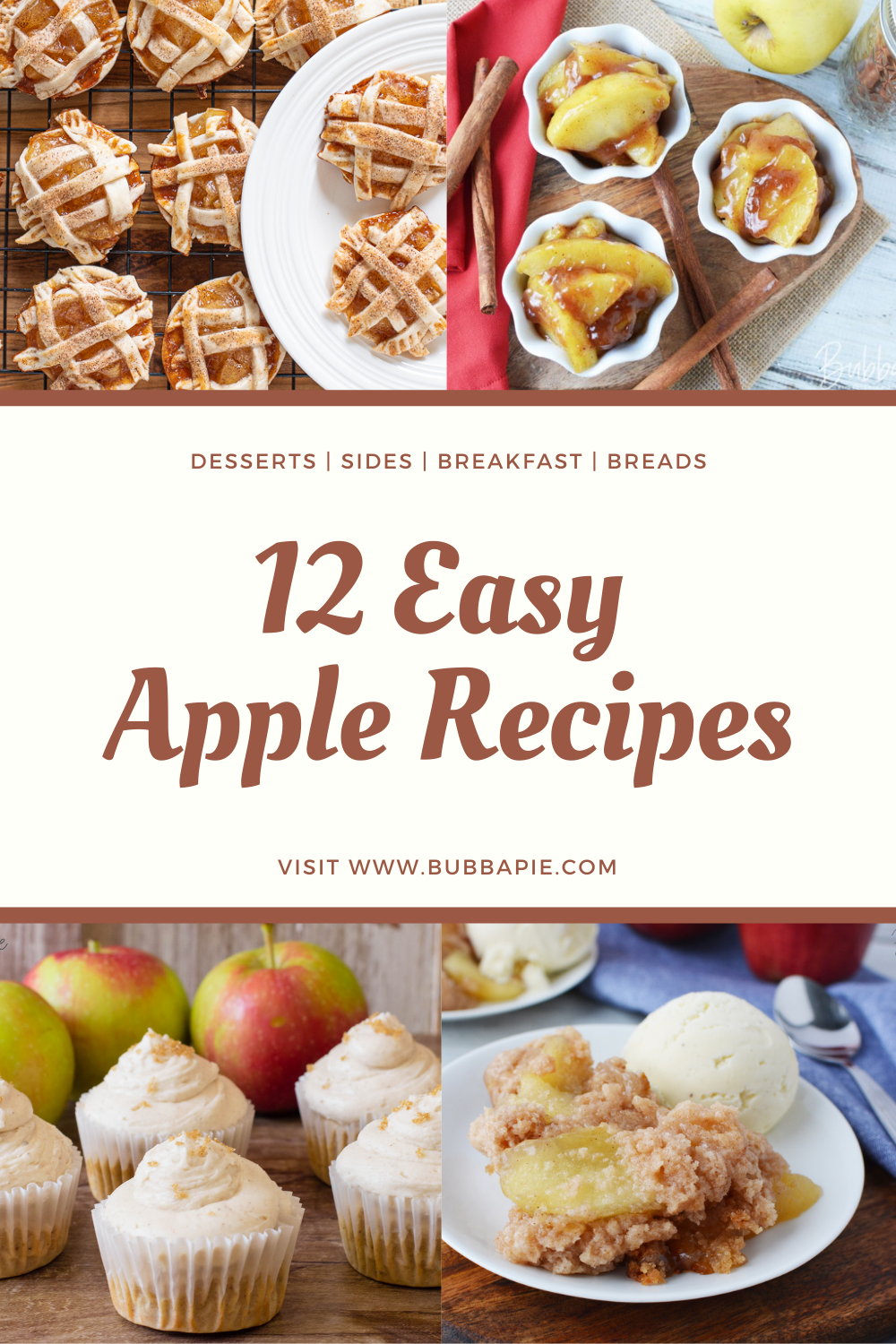 Easy Apple Recipes-desserts, breads, breakfasts and sides