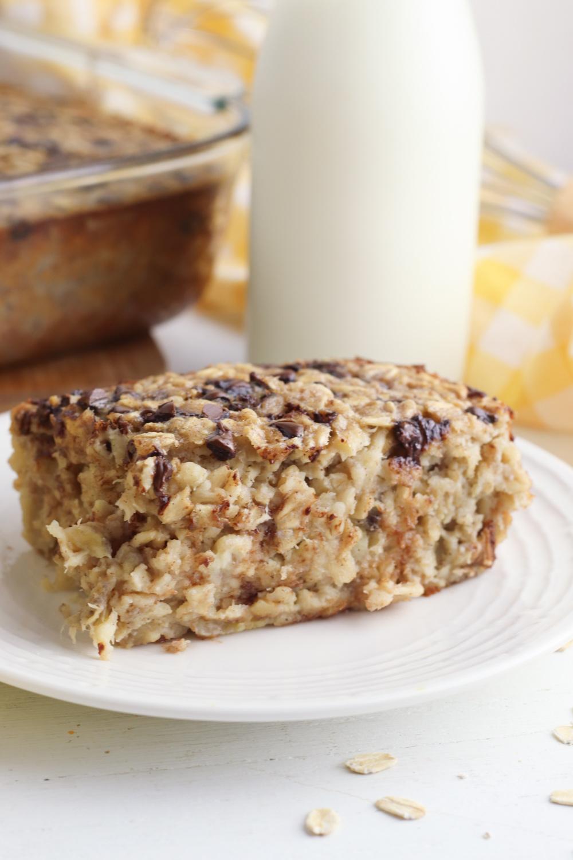 Banana Bread Baked Oatmeal Recipe
